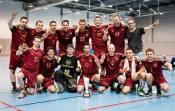 Mužští vítězové - UHC Zuger Highlands, nejúspěšnější tým historie turnaje. (Zdroj: Facebook - International Floorball Congress)