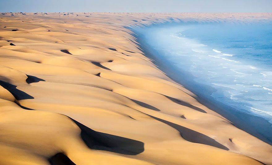 Poušť Namib, Namibie