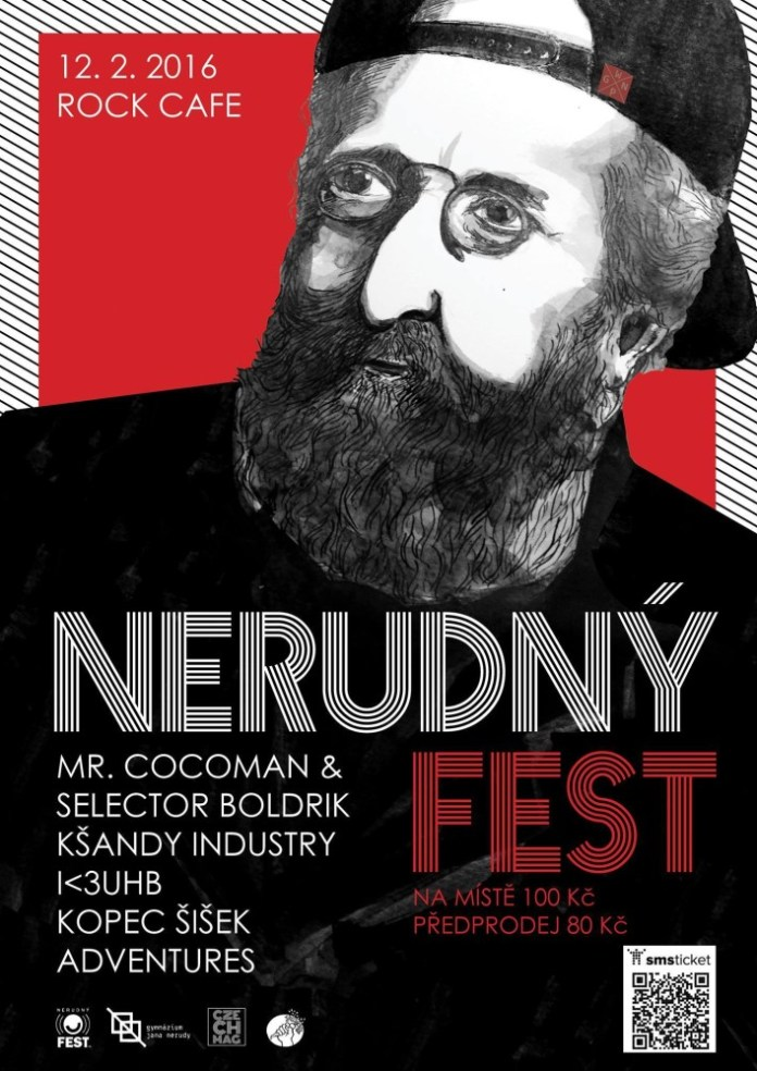 nerudný fest 2016 poster
