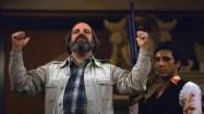 Režisér Brian De Palma s Al Pacinem při natáčení