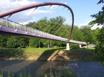 Most w Parku Adama Sikory