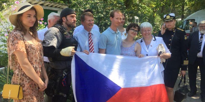 Ukraine embassy condemns communist trip to Crimea - Czech Points