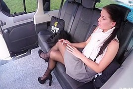 Czech Teen Eveline Dellai Rides Cock On Car