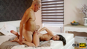 Naughty Minx Permits Old Partner To Shove Cock Into Her Ass
