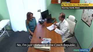 Horny European Sluts Fuck Doctor During Visit – Fake Hospital
