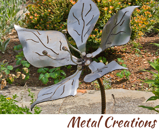 Metal sculptures nd designs by John Czegledi artisan and craftsman Courtenay BC