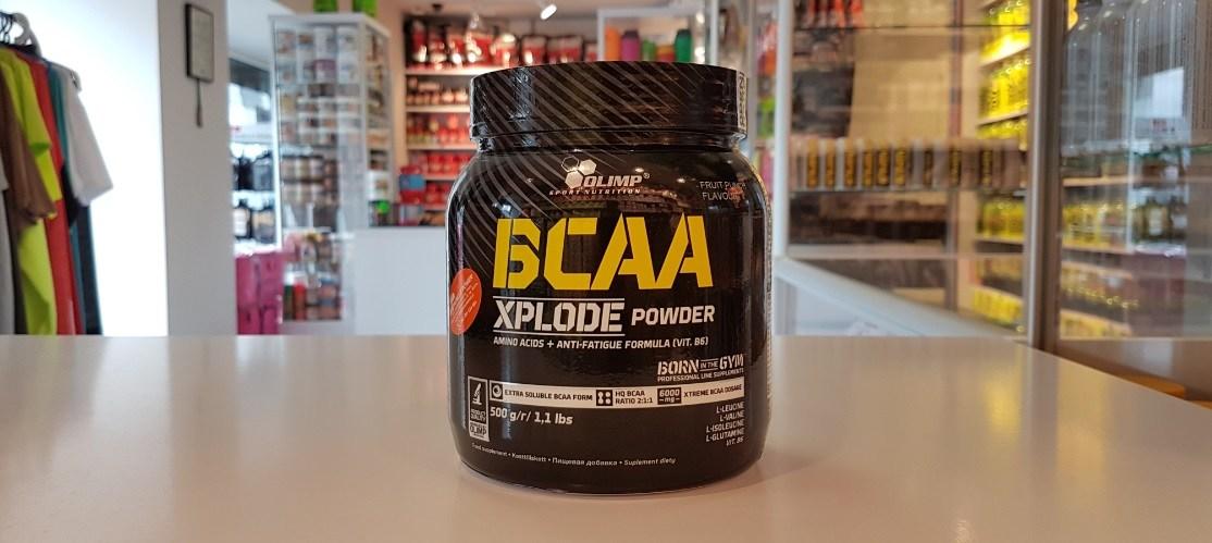 BCAA Xplode - Olimp Muscle Power Częstochowa - sklep z suplementami i zdrową żywnością