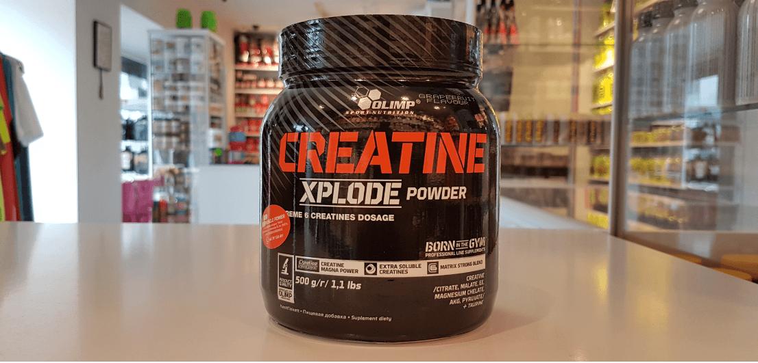Creatine Xplode - Olimp Muscle Power Częstochowa - sklep z suplementami i zdrową żywnością