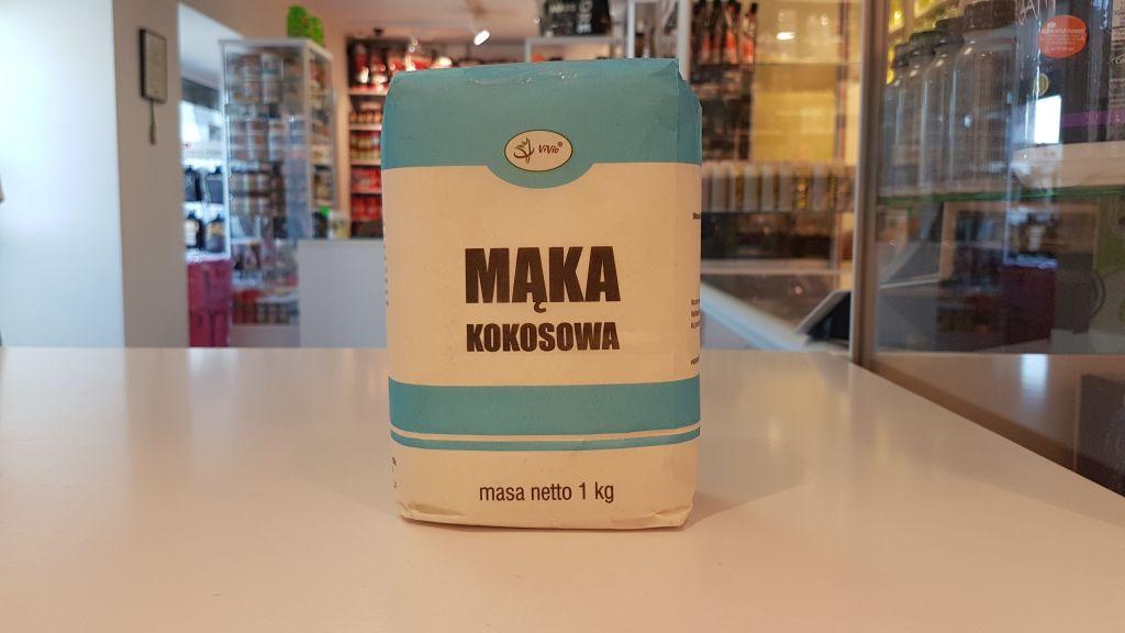 Mąka Kokosowa - Vivio Muscle Power Częstochowa - sklep z suplementami i zdrową żywnością