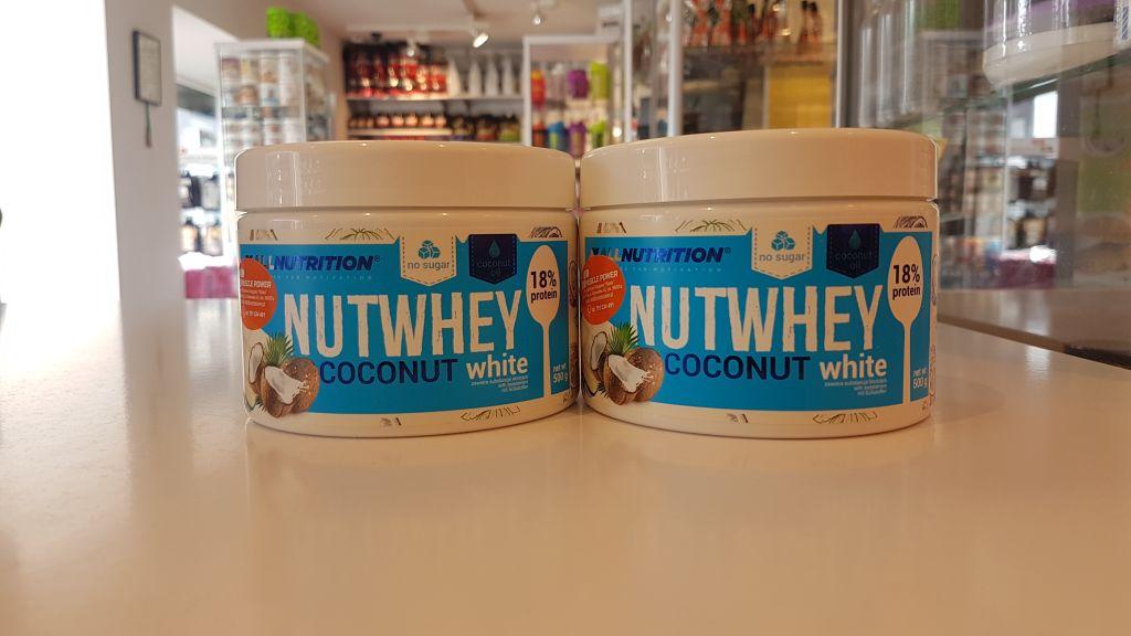 Masło orzechowe Protein nutwhey -allnutrition