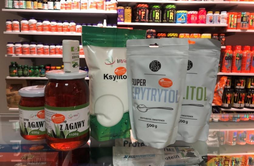 Syrop z Agawy/Ksylitol/Erytrytol - Vivio, Diet Food Muscle Power Częstochowa - sklep z suplementami i zdrową żywnością