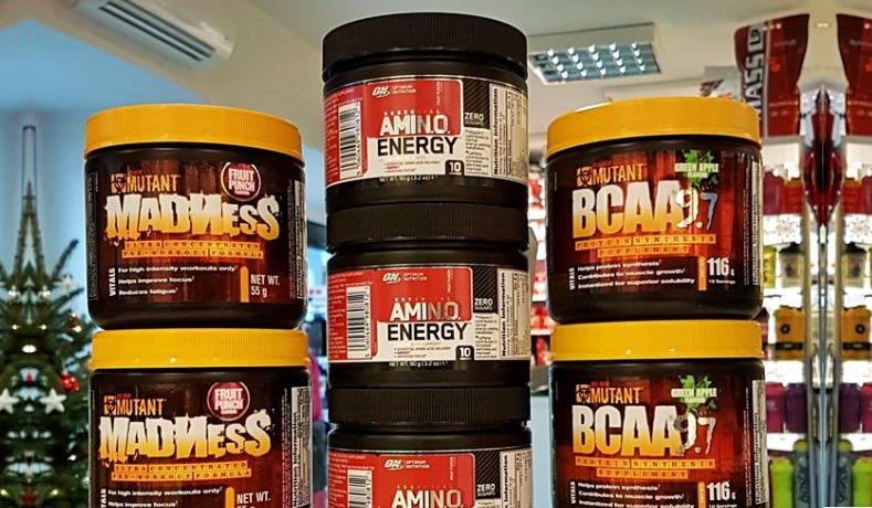 Gratisy w Muscle Power- aminokwasy, przedtreningówka Muscle Power Częstochowa- sklep z odżywkami i zdrową żywnością