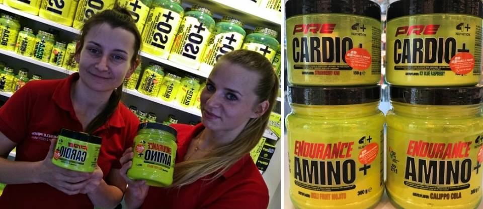 Nowości od marki 4+ Nutrition Muscle Power Częstochowa - sklep z suplementami i zdrową żywnością