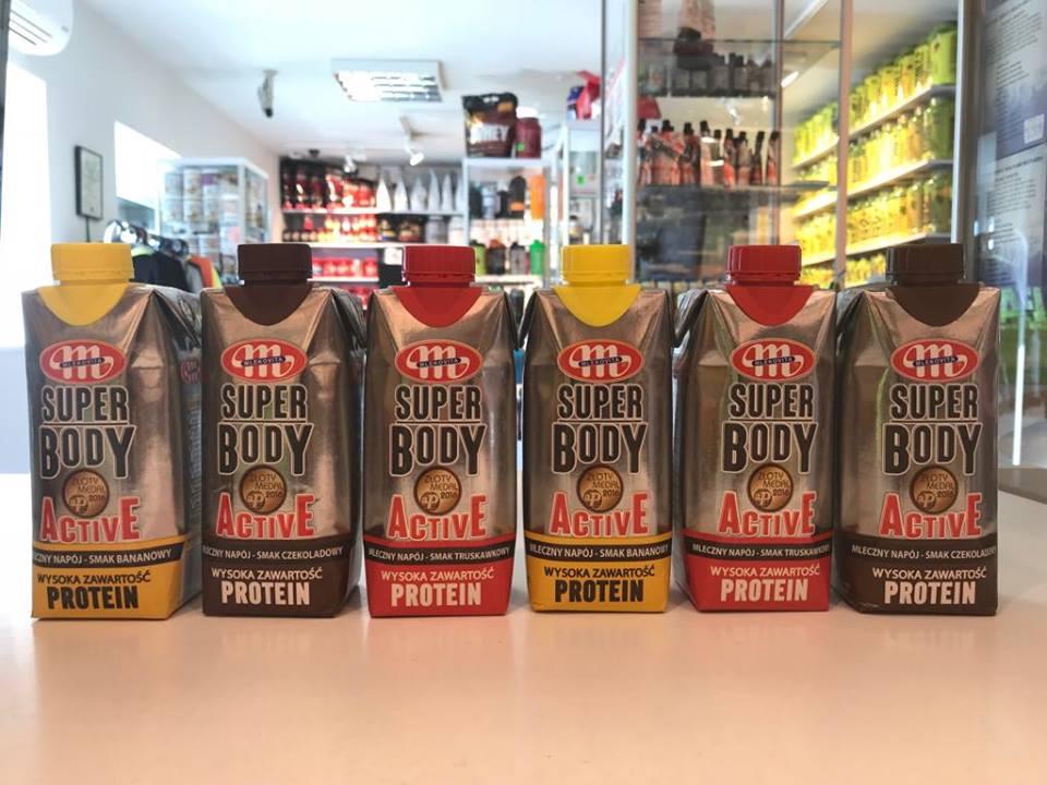 Proteinowy shake od Mlekovity! Muscle Power Częstochowa - sklep z suplementami i zdrową żywnością