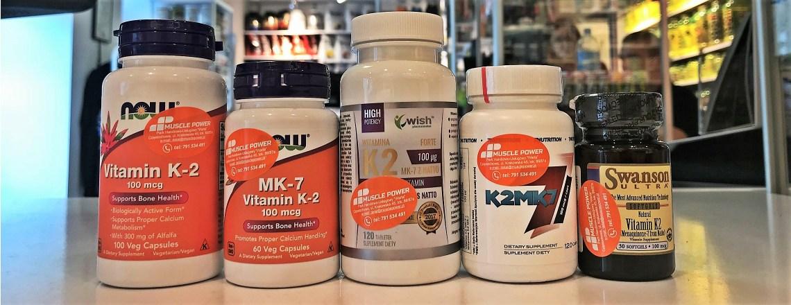 Witamina K2, K2 MK7 - Now Foods, Swanosn, Wish Pharmaceutical
