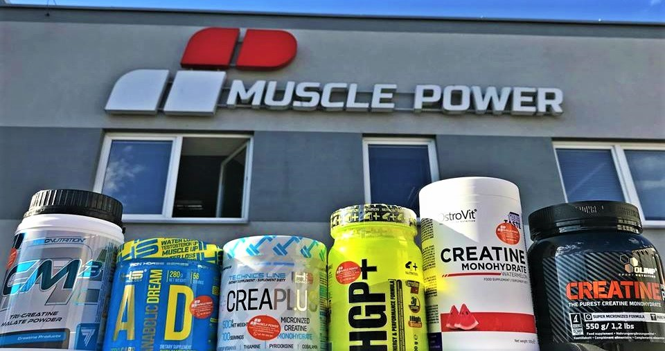 Kup kreatynę w Muscle Power 10% taniej !