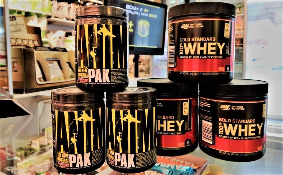 GRATISY !witaminy Animal Pak bądź białko Gold Whey Standard