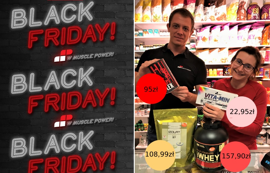 Black Friday w Muscle Power!
