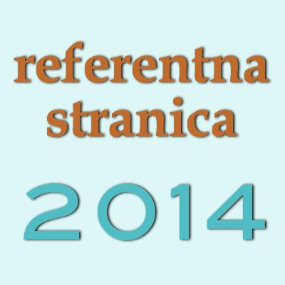 referentna stranica iz financijskog izvještaja Centra za 2014. godinu