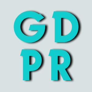 Istaknuta najavna slika sa slovima GDPR