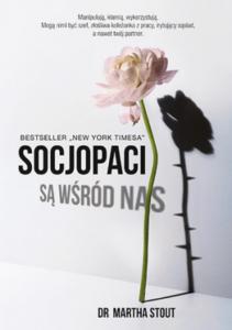 """Okładka książki """"Socjopaci są wśród nas"""". Książkowe premiery wrzesień"""