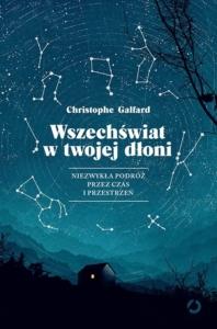 """Okładka książki """"Wszechświat w twojej dłoni"""". Książkowe premiery wrzesień"""