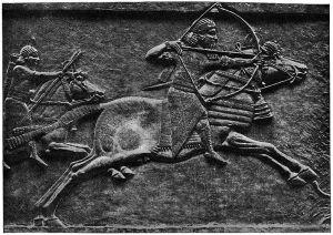 Jeden z zachowanych wizerunków Aszurbanipala, twórcy jednej z najważniejszych bibliotek starożytnego świata