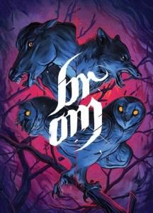 """Okładka komiksu """"Brom"""" recenzowanego w artykule najlepsze premiery komiksów"""
