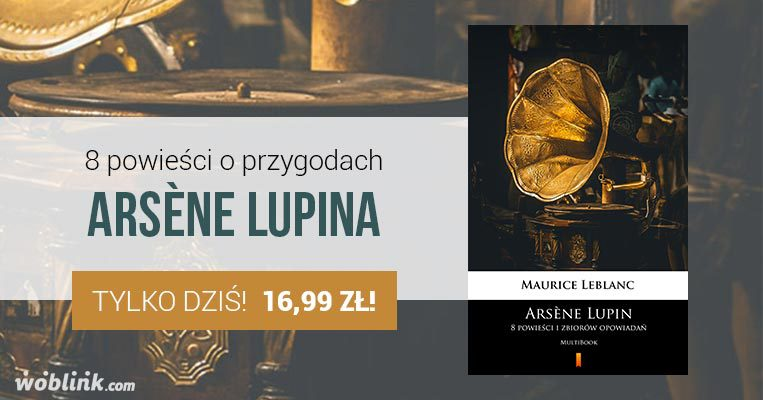 arsene lupin maurice leblanc promocja