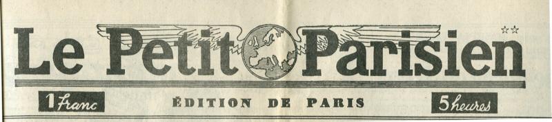 Le Petit Parisien - Lundi 8 juin 1942