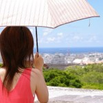 夏に必須の日傘。古い日傘を使うとuvカット効果がなくなっているかも!?