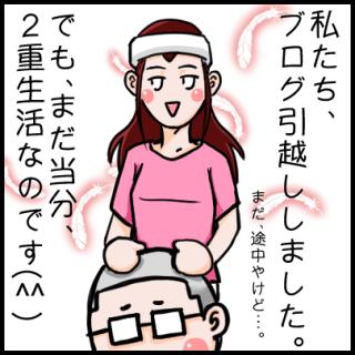 ブログを引越ししました(^^)