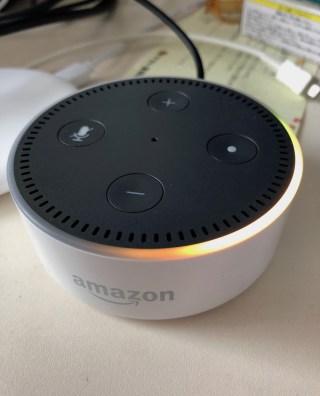 【ガジェット】スマートAIスピーカー「Amazon Echo Dot」を購入してみた。