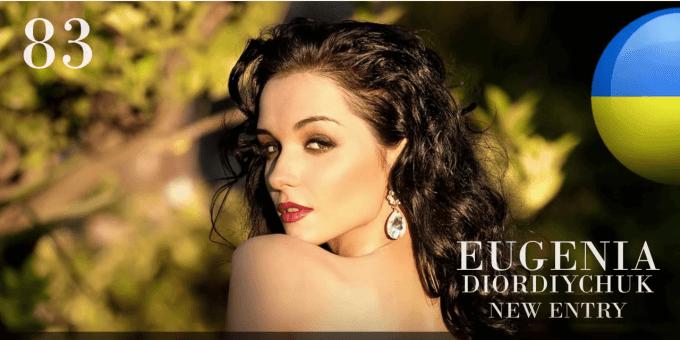 EUGENIA DIORDIYCHUK 世界で最も美しい顔100人