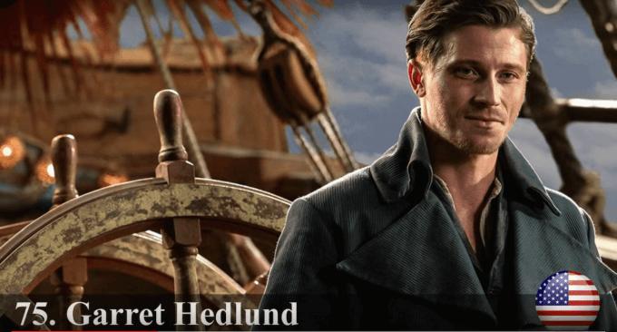 ギャレット・ヘドランド 世界で最もハンサムな顔100人