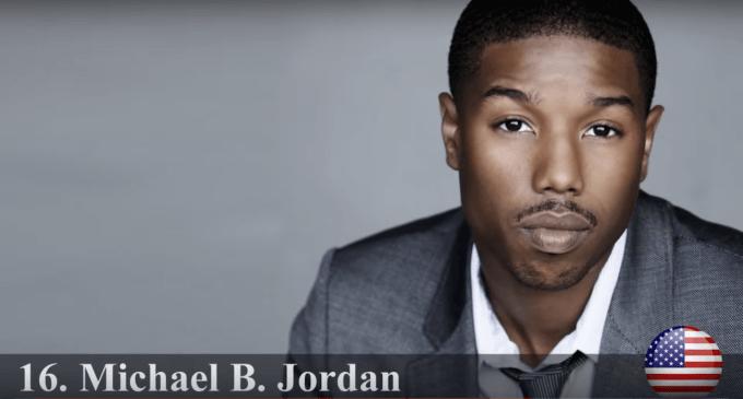 マイケル・B・ジョーダン 世界で最もハンサムな顔100人