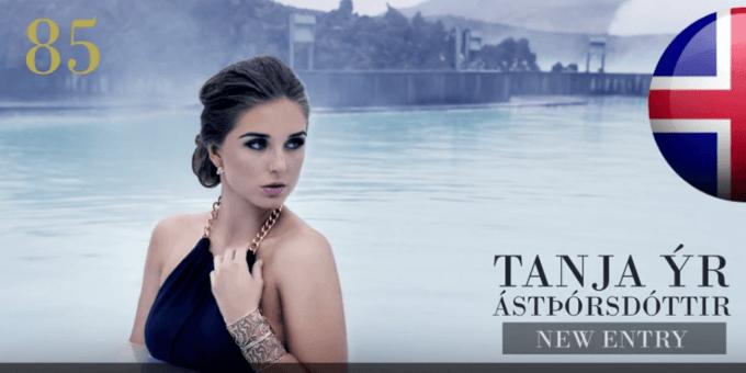 Tanja Ýr 世界で最も美しい顔100人