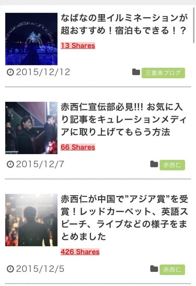 SNSトータルシェア数 スマホ表示