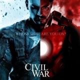 マーベルの大人気ヒーローアイアンマンとキャプテンアメリカの画像