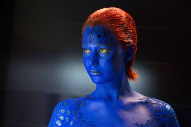 X-MEN映画での重要な登場人物ミスティークの画像