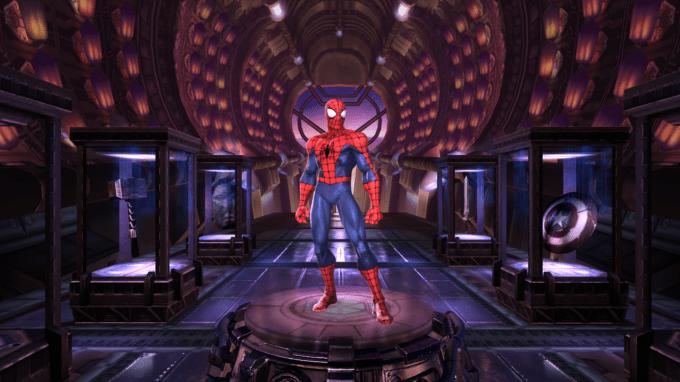 ゲームでスパイダーマンをゲット