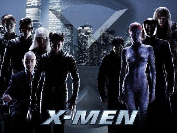 X-MENシリーズ1作目X-MENのキャストと画像