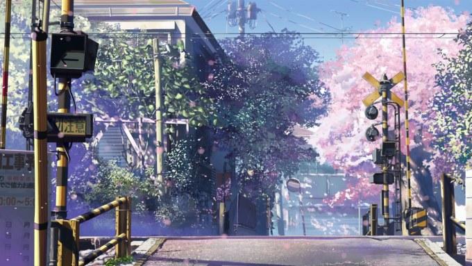 新海誠の作品、秒速5センチメートルの画像
