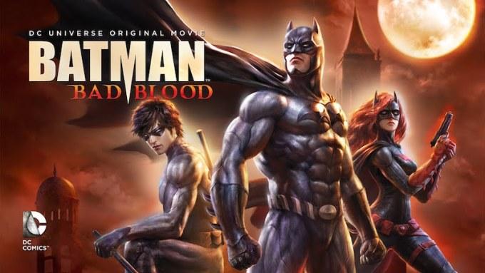 DCコミックスの人気アニメバットマンBAD BLOODの画像