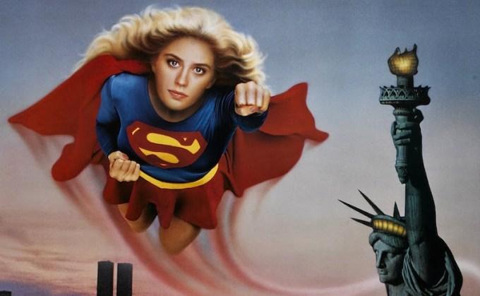 スーパーマンのスピンオフ映画スーパーガールの主演ヘレン・スレイターの画像
