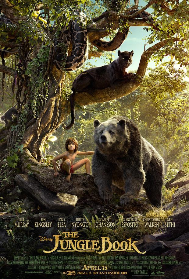 ファンタジー映画『ジャングル・ブック』の登場人物と画像