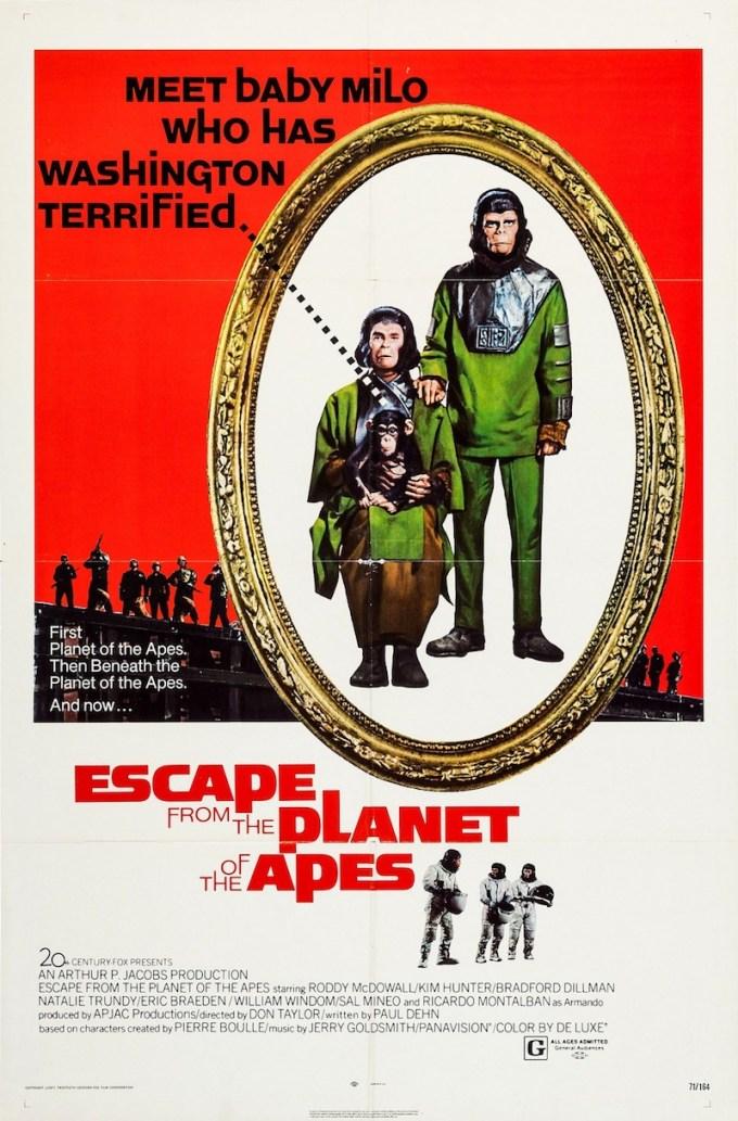 映画『新・猿の惑星』の登場人物と画像