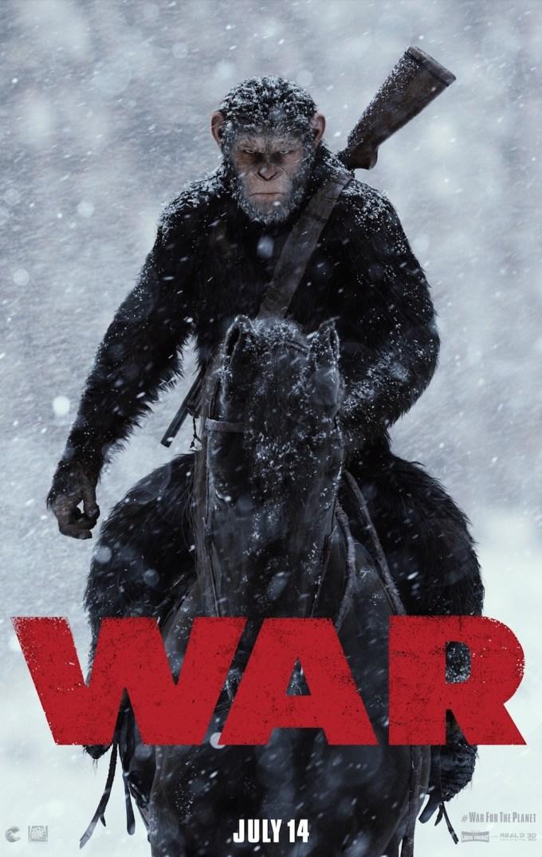 映画『猿の惑星: 大戦記』の登場人物と画像
