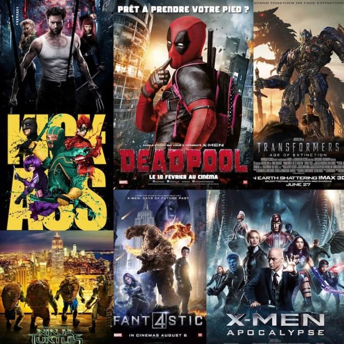 アメコミ映画の人気シリーズ一覧の画像