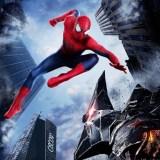 映画スパイダーマンの解説。主人公ピーターとヴァルチャーのバトルシーン画像